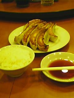 風邪、餃子(特大)